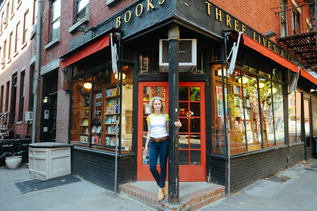 A bookstore in the West Village of NYC that always inspires me to write.
