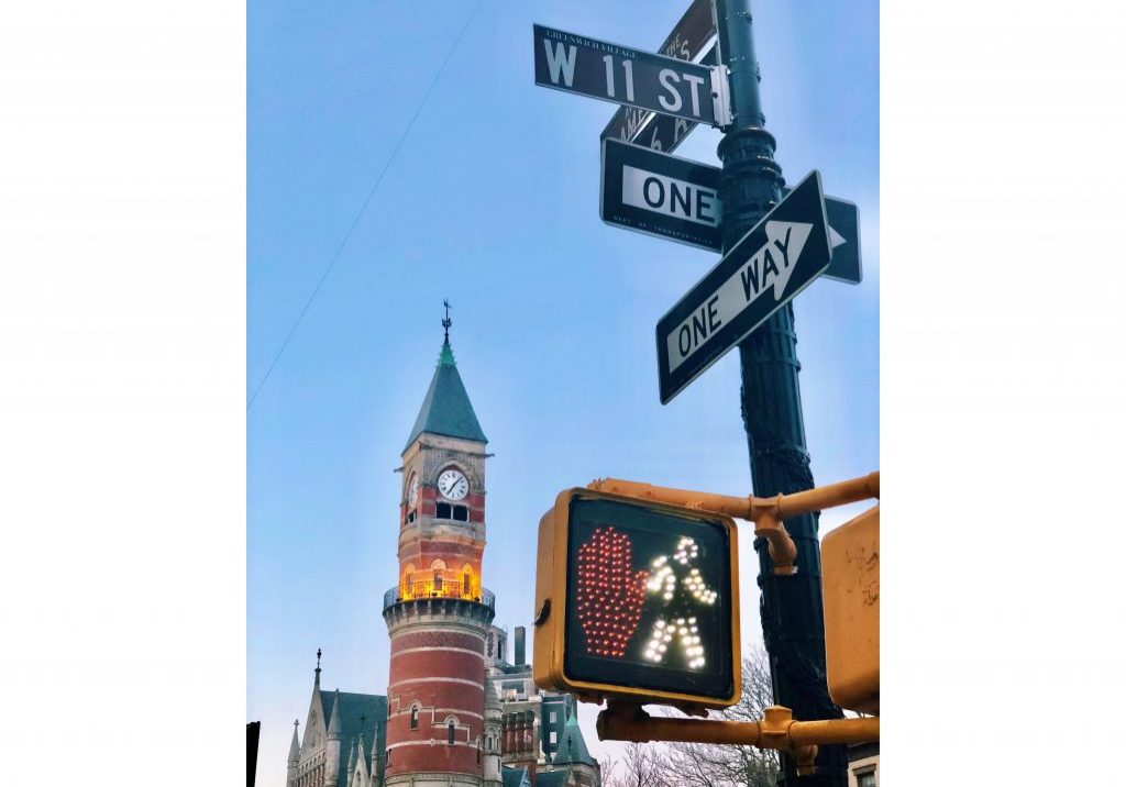 """""""Stop or Go"""" NYC, Greenwich Village, 2018 photo by Melissa"""